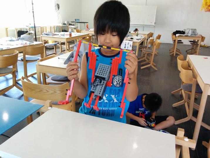 ロボット教室 ロボット改造風景4