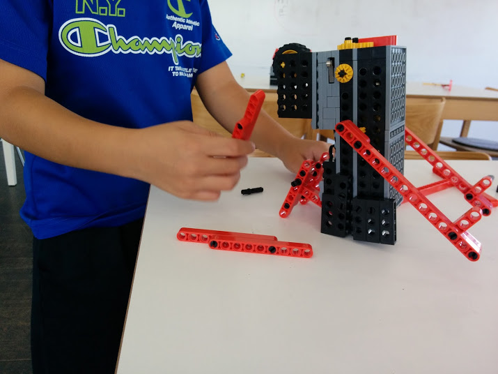 ロボット教室 ロボット改造風景2