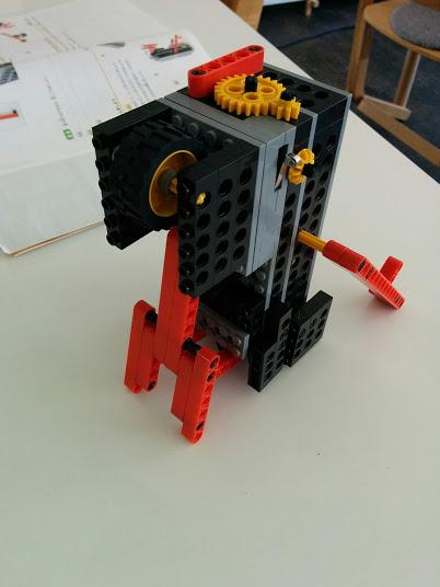 ロボット教室 ロボット改造