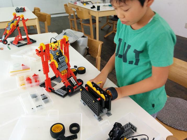 ロボット教室 ロボット製作風景5