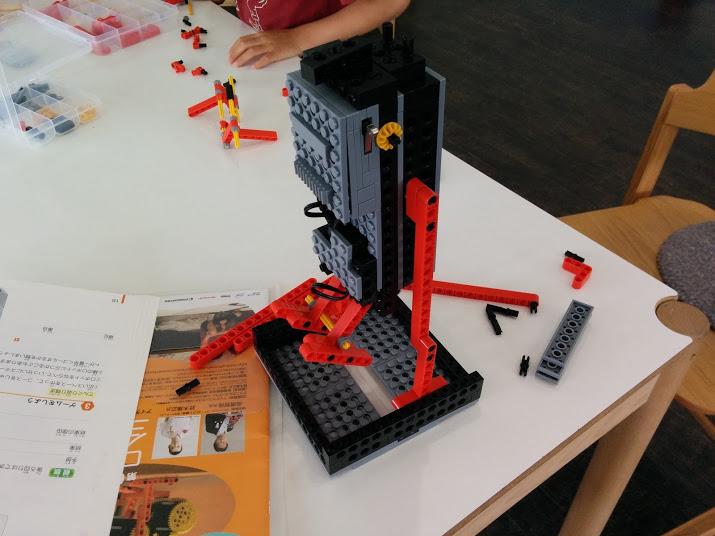 ロボット教室 クルリン改造1