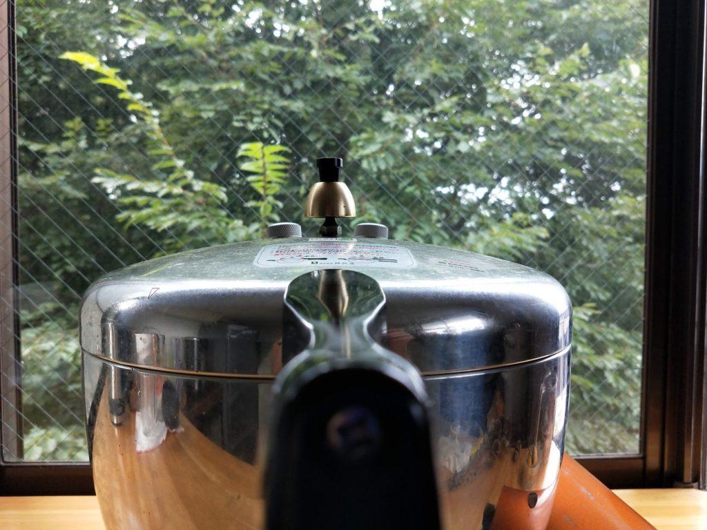 玄米 ヘイワ圧力鍋 水加減